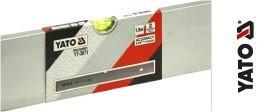 Dreptar aluminiu YATO, 2 bule 1